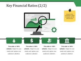 Key Financial Ratios Ppt Styles Clipart