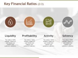 Key Financial Ratios Presentation Background Images