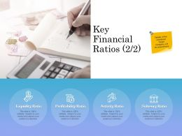 Key Financial Ratios Profitability Ppt Powerpoint Presentation Summary