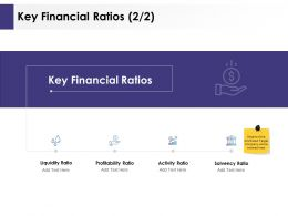 Key Financial Ratios Profitability Ppt Powerpoint Presentation Topics