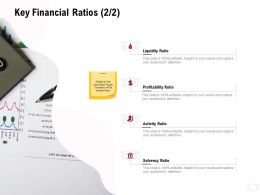 Key Financial Ratios Profitability Ratio Ppt Powerpoint Presentation Styles Slideshow
