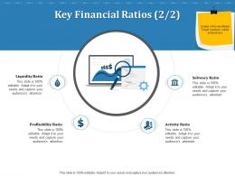 Key Financial Ratios Solvency Inorganic Growth Ppt Powerpoint Presentation Slides