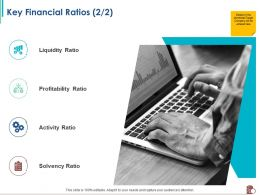 Key Financial Ratios Solvency M2390 Ppt Powerpoint Presentation Icon Outline