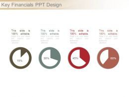 Key Financials Ppt Design