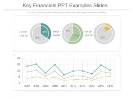 Key Financials Ppt Examples Slides