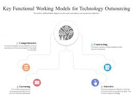 Key Functional Working Models For Technology Outsourcing