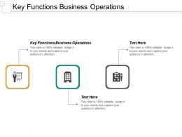 Key Functions Business Operations Ppt Powerpoint Presentation Inspiration Slides Cpb