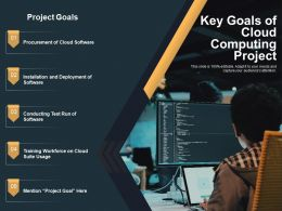 Key Goals Of Cloud Computing Project