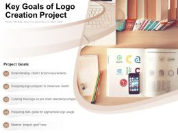Key Goals Of Logo Creation Project