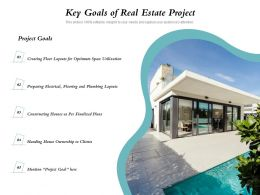 Key Goals Of Real Estate Project