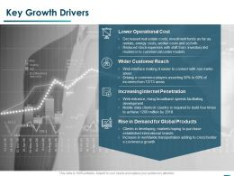 Key Growth Drivers Ppt Powerpoint Presentation Pictures Graphics