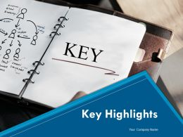 Key Highlights Powerpoint Presentation Slides