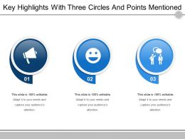 key_highlights_with_three_circles_and_points_mentioned_Slide01