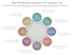 Key Hr Elements Template Ppt Example File