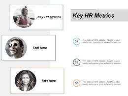 Key Hr Metrics Ppt Powerpoint Presentation Styles Outline Cpb