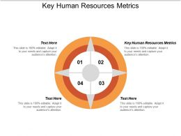Key Human Resources Metrics Ppt Powerpoint Presentation Slides Styles Cpb