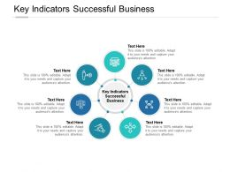 Key Indicators Successful Business Ppt Powerpoint Presentation Slides Objects Cpb