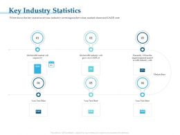 Key Industry Statistics At A CAGR Ppt Powerpoint Presentation Portfolio Introduction