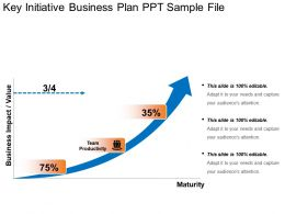 Key Initiative Business Plan Ppt Sample File