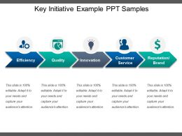 Key Initiative Example Ppt Samples