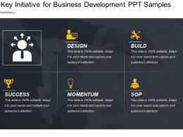 Key Initiative For Business Development Ppt Samples