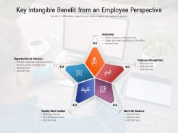 Key Intangible Benefit From An Employee Perspective