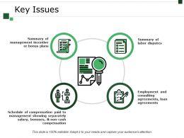 Key Issues Presentation Deck