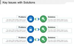 Key Issues With Solutions