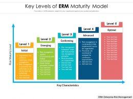Key Levels Of ERM Maturity Model