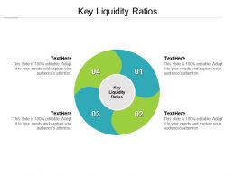 Key Liquidity Ratios Ppt Powerpoint Presentation File Good Cpb