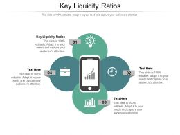 Key Liquidity Ratios Ppt Powerpoint Presentation Icon Guidelines Cpb