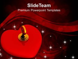 Key Lock Red Heart Security PowerPoint Templates PPT Themes And Graphics 0213
