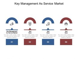 Key Management As Service Market Ppt Powerpoint Presentation Styles Layout Ideas Cpb