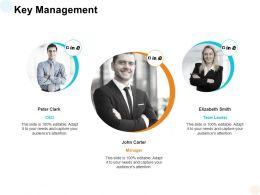 Key Management Communication Ppt Powerpoint Presentation Designs