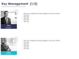 Key Management Communication Ppt Powerpoint Presentation File