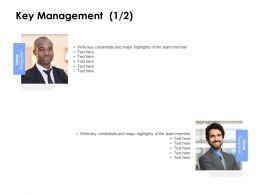 Key Management Communication Ppt Powerpoint Presentation Grid