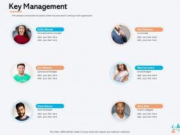 Key Management Gary Doe Ppt Powerpoint Presentation Model Infographics