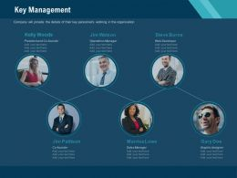 Key Management Organisation Ppt Powerpoint Presentation Infographic Template