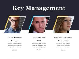 Key Management Powerpoint Presentation Templates