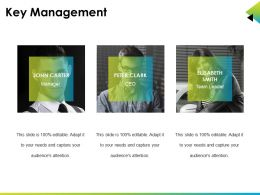 Key Management Powerpoint Show