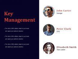 Key Management Powerpoint Slide Designs