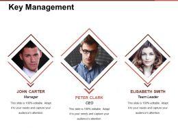 Key Management Presentation Powerpoint Example