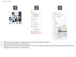 9950796 Style Essentials 1 Our Team 3 Piece Powerpoint Presentation Diagram Infographic Slide