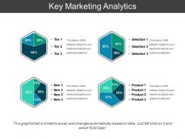 Key Marketing Analytics Sample Of PPT