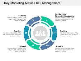 Key Marketing Metrics Kpi Management Ppt Powerpoint Presentation Styles Visuals Cpb