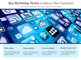 Key Marketing Tactics To Attract New Customers
