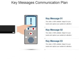 Key Messages Communication Plan Powerpoint Presentation