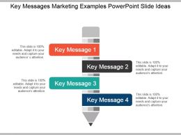 Key Messages Marketing Examples Powerpoint Slide Ideas