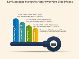 Key Messages Marketing Plan Powerpoint Slide Images