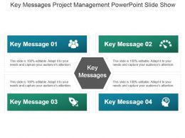 Key Messages Project Management Powerpoint Slide Show